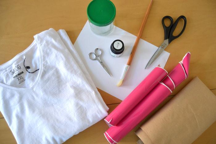 Material DIY T-Shirt bedrucken