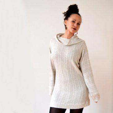 DIY Pullover Kleid nähen