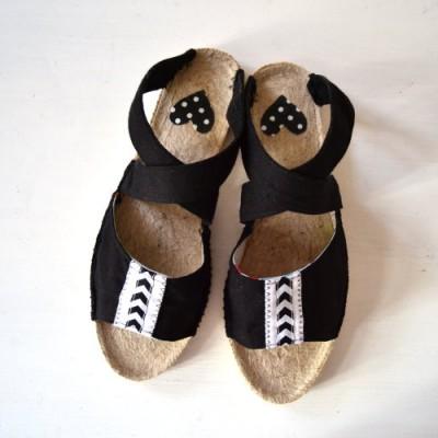DIY Sandalen selbst machen mit Espandrilles Sohlen – Prym Contest Teil 2
