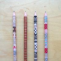 Upcycling Bleistifte mit Washitape