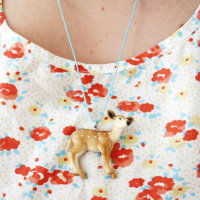 Upcycling DIY Kette aus Spielzeug