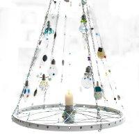 Upcycling DIY Lampe aus Fahrradfelge