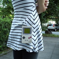 Upcycling Handtasche aus Gameboy