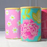 Upcycling Kaffedose als Geschenkbox