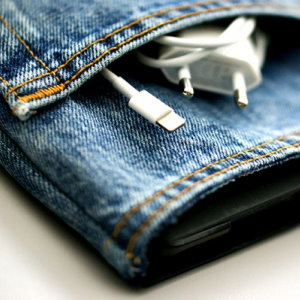 Upcycling iPad Hülle aus Jeans