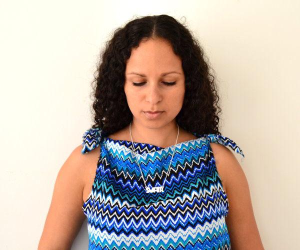 DIY Maxikleid Sommerkleid Strandkleid langes Kleid selbst machen einfach und schnell ohne Nähen 6
