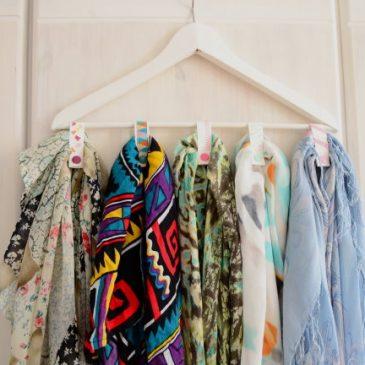 DIY Schrank Organizer – Mini Garderobe, Bügel für Gürtel und Tücher aus SnapPap