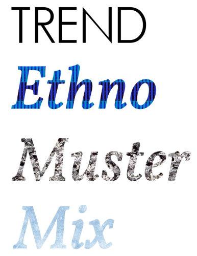 Mode Sommertrends 2015 Trend Sommer Ethno Boho Hippie Mustermix Batik 2