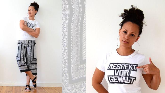 Mode Sommertrends 2015 Trend Sommer Rapster Respekt vor Gewalt Merchandise Paisley Hose Creolen 1