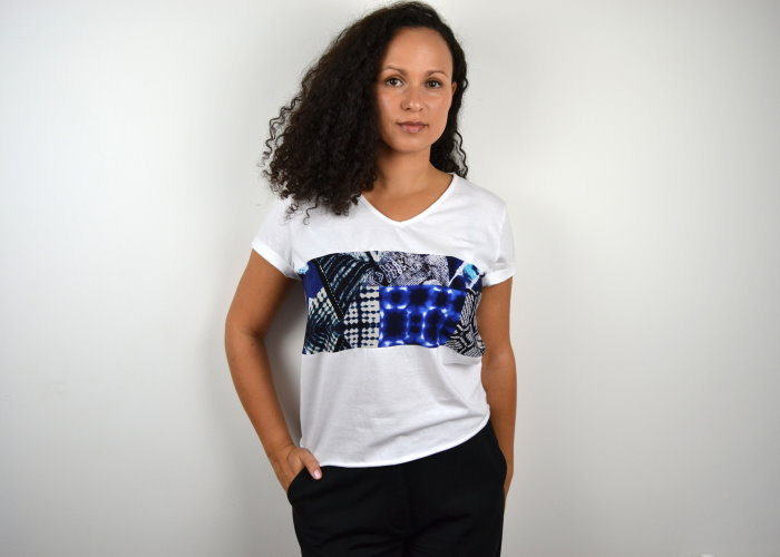 DIY Upcycling T-Shirt Oberteil nähen diymode Crop Top selbst selber machen für Anfänger 1