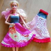 Barbie Kleider, barbie, kleider, kleidung, nähen, nähanleitung, selbst, selber, machen, anleitung, wie, schnittmuster, kostenlos