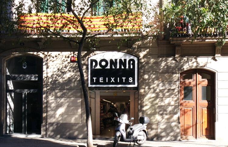 Stoffläden Barcelona Donna Teixits