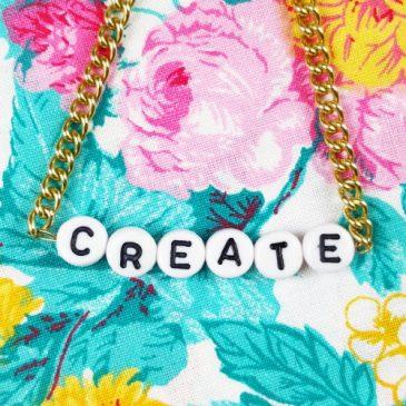 DIY Armband mit Buchstaben selbst machen – Namensarmband