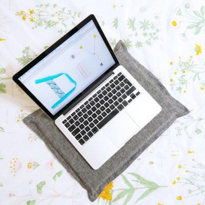 Laptop Kissen nähen / DIY MODE Nähanleitung