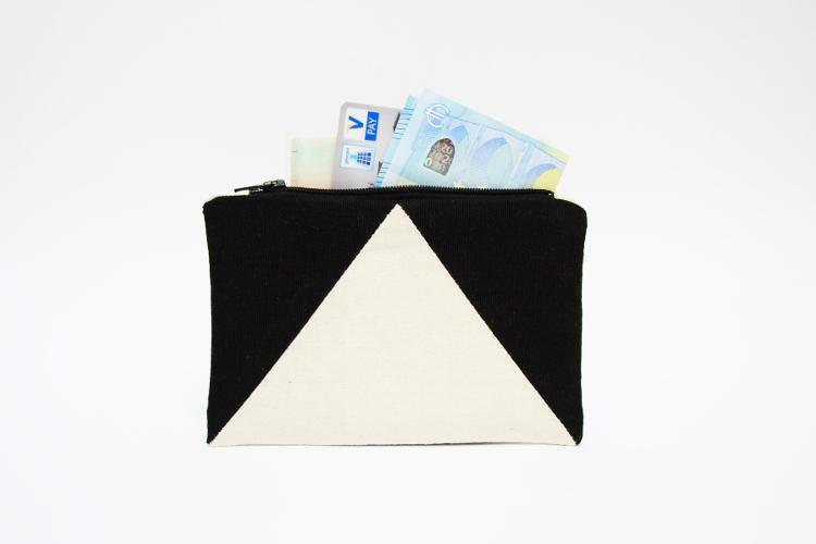 DIY MODE Portemonnaie einfach nähen selbstmachen mit Schnittmuster für Anfänger 1