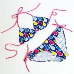 Bikini / Schnittmuster (Gr 32-48) & Fotoanleitung