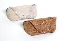 Brillenetui aus Kork / Schnittmuster & Fotoanleitung