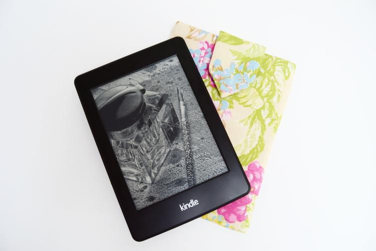 kindl huelle naehen tablet huelle selber selbst machen paperwhite schnittmuster kindlhuelle tasche fuer