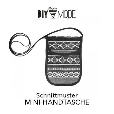 DIY MODE Mini-Handtasche Schnittmuster