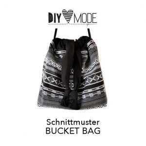 DIY MODE Bucket Bag Schnittmuster