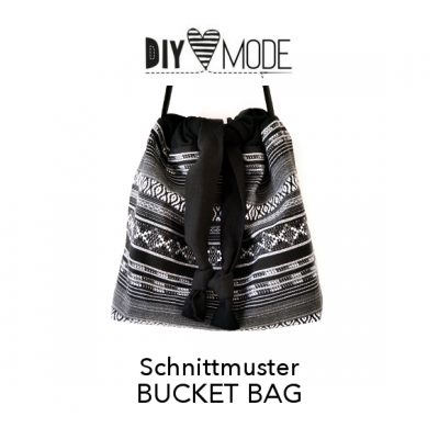 DIY MODE Bucket Bag Schnittmuster