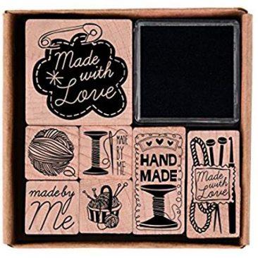 Stempelset Handmade