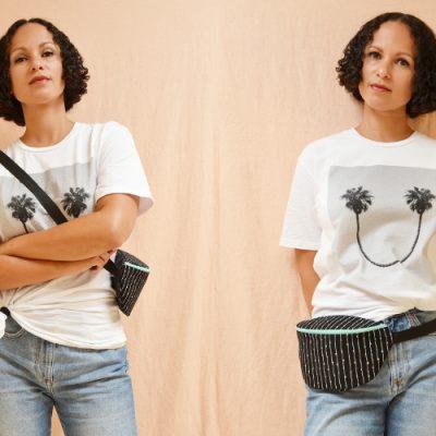 Hip Bag nähen / DIY MODE Nähanleitung mit Schnittmuster
