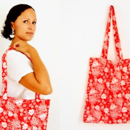 Stoffbeutel nähen für Anfänger / DIY Einkaufstasche, Jutebeutel Näh-Anleitung