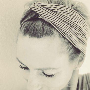 Haarband von mikfinpino via Instagram