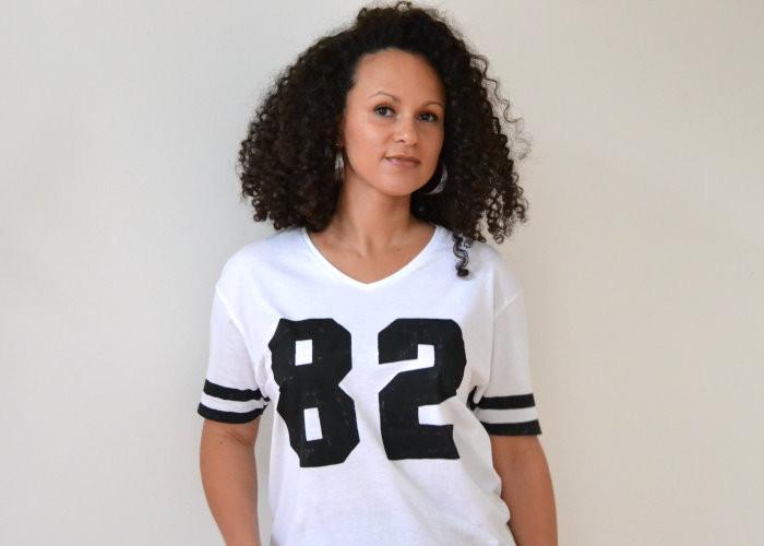 DIY T-Shirt Druck bedrucken Football Shirt selbst machen