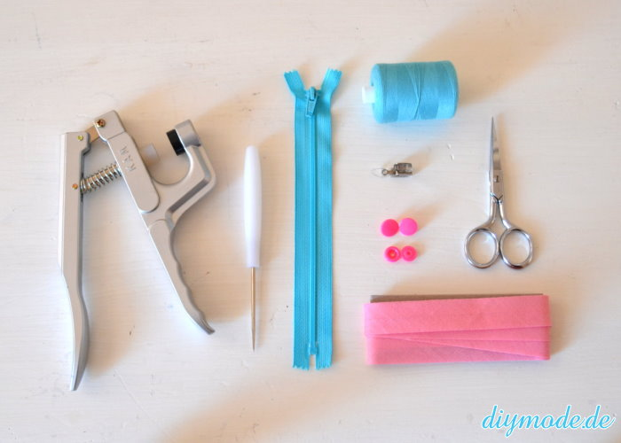DIY Reißverschluss Armband Werkzeug
