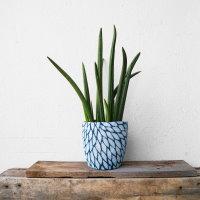 Upcycling Blumentopf mit Pullover