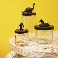 Upcycling DIY Einweckgläser mit Tierchen