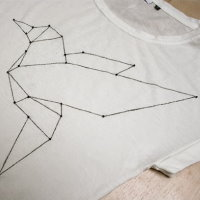 Upcycling DIY Origami T-Shirt
