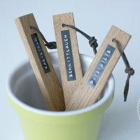 Upcycling DIY Pflanzenstecker