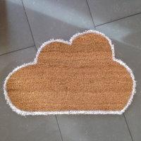 Upcycling Wolkenfußmatte