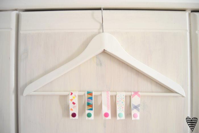DIY Schrank Organizer Bügel für Gürtel und Tücher selber machen snappap 1