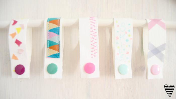 DIY Schrank Organizer Bügel für Gürtel und Tücher selber machen snappap 3