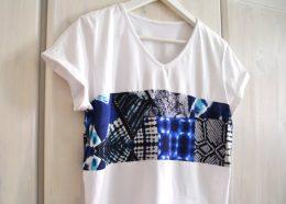 DIY Upcycling T-Shirt Oberteil nähen diymode Crop Top selbst selber machen für Anfänger3