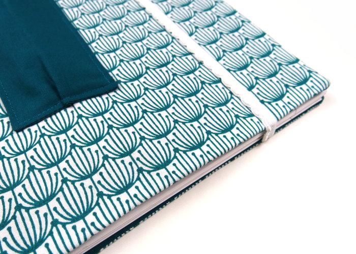 DIY Collegeblock Hülle nähen selbst machen Freebook Anleitung kostenlos Schnittmuster diymode 8