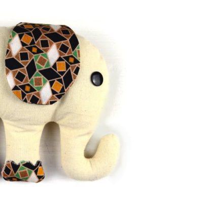 DIY Elefant nähen / Kuscheltier selbst machen