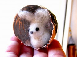 Mini Osterhase aus Filz