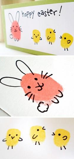 Fingerabdruck-Tierchen