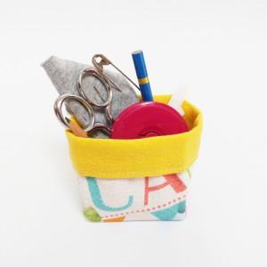 DIY MODE Mini Utensilo nähen Schnittmuster