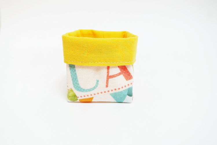 DIY MODE   Mini-Utensilo nähen mit Schnittmuster