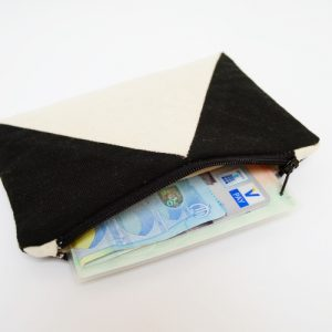 DIY MODE Portemonnaie einfach nähen selbstmachen mit Schnittmuster für Anfänger