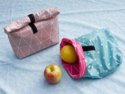 lunchbag beachbag wachstuch nasse badezeug badesachen picknick sommer diy mode nähen schnittmuster kostenlos freebook einfach anleitung für anfänger diymode für frauen erwachsene nähblog auf deutsch damen