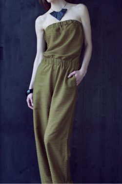 Overall, Jumpsuit / Schnittmuster im Maßstab 1:5 (Gr 36/38) mit Textanleitung