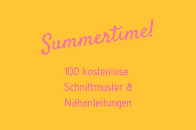 DIY MODE | 100 kostenlose Anleitungen, Schnittmuster und Freebooks ...