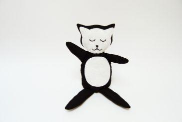 Kuscheltier Katze nähen für kinder anleitung video schnittmuster kostenlos freebie freebook kreativlabor mieze geschenk kleinigkeit idee 6